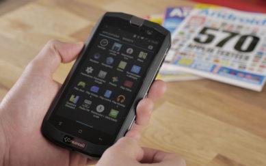 Le smartphone antichocs