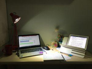Étude, Recherche, Nuit, Ordinateur Portable, Ipad